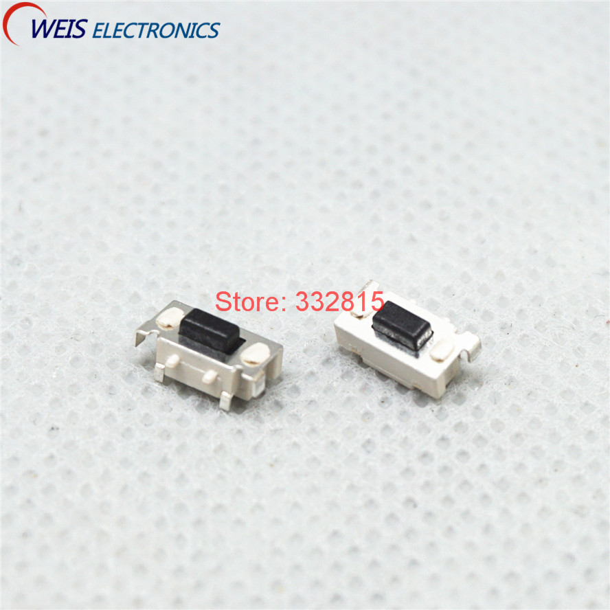 50pcs 3*6*3.5MM 3*6mm 3X6X3.5 Micro Tactile Tact Keys Buttons SMD Push Side Button Switches FREE SHIPPING 6 3