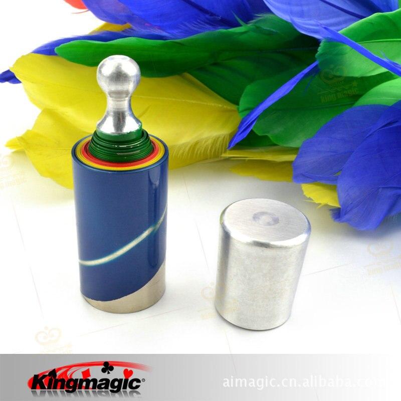 Canne à disparaître (4 couleurs) à fleur roi tours de magie accessoires Magia jouets drôles enfants livraison gratuite