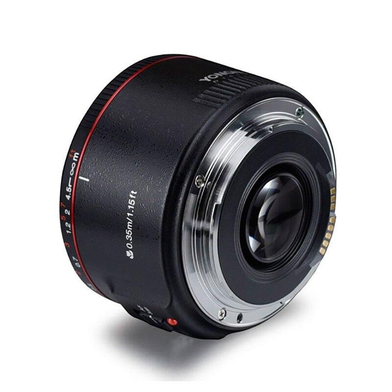 YONGNUO YN50mm F1.8 II objectif à mise au point automatique à grande ouverture petit objectif avec effet Super Bokeh pour Canon EOS 70D 5D3 600D appareil photo reflex numérique
