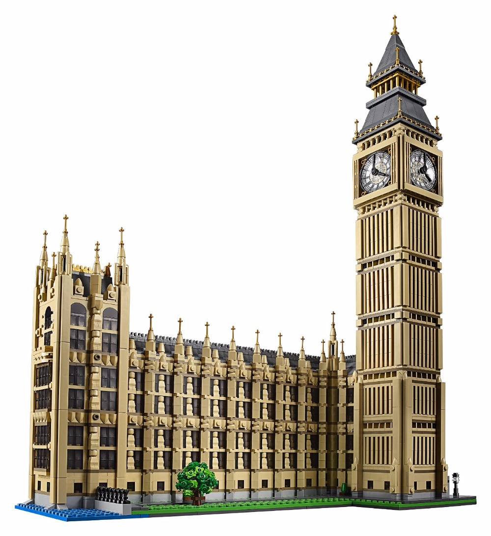 LEPINE City Street Creators Big Ben Model Building Blocks Kits Toys For Children Marvel Compatible Bela education MOC block toy lepine 16008 cinderella princess castle 4080pcs model building block toy children christmas gift compatible 71040 girl lepine