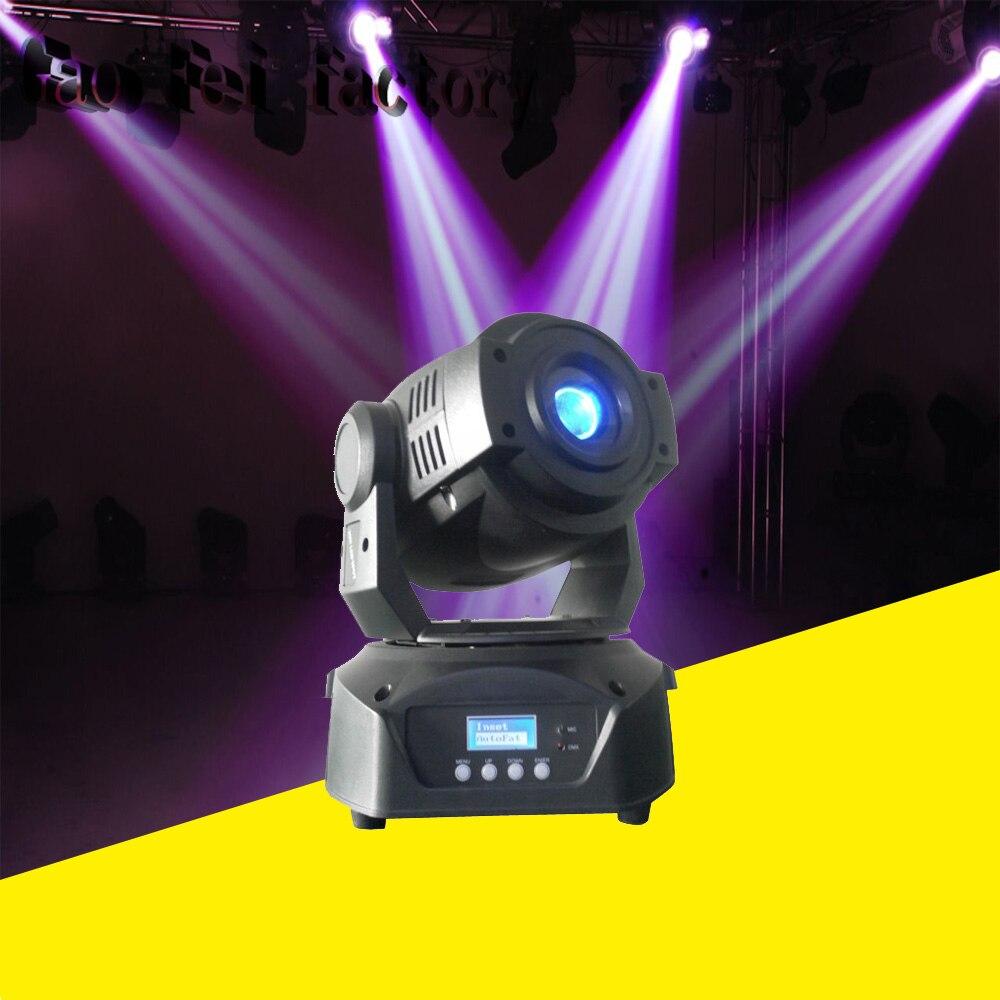 Chaude 90 W LED Tête Mobile Spot Éclairage de Scène 16 DMX Canal Salut-Qualité Offres Spéciales 90 W Prisme LED lumière en mouvement Nouveau Design