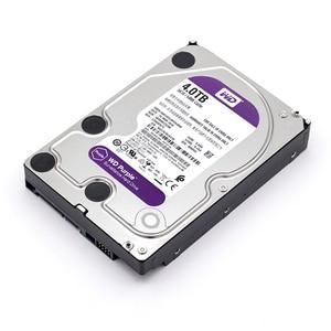 Image 2 - WD mor 4TB HDD gözetim sabit Disk sürücüsü 5400 RPM sınıfı SATA 6 gb/sn 64MB önbellek 3.5 inç WD40EJRX kamera ip