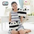1pcs 20cm Round head panda cartoon stuffed plush toy lovely Fat Panda Kawaii doll for children