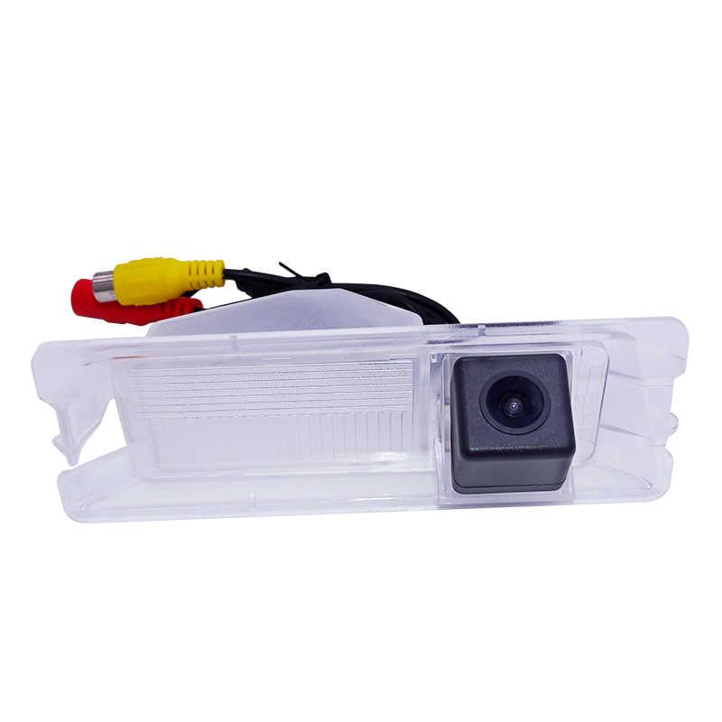 SONY CCD Sensor especial de visión trasera de coche cámara de respaldo inverso para Nissan March/para Renault slogan Sandero envío gratis