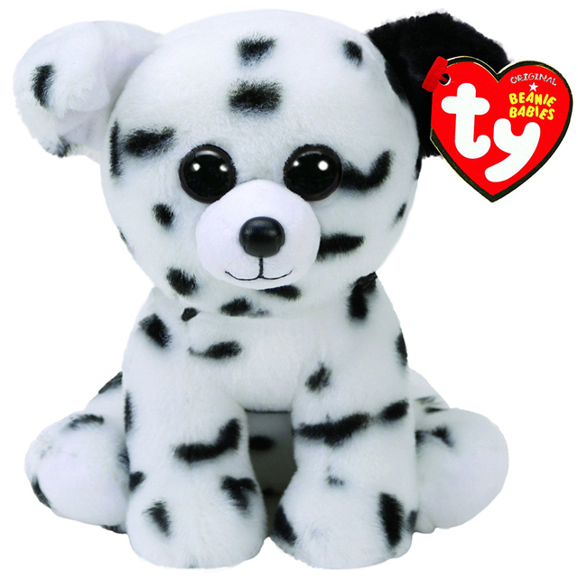 Pyoopeo Ty Beanie Babies 6 15cm Spencer Dalmatian Dog Plush Regular