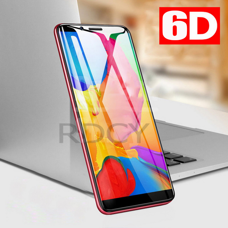 RDCY 6D Tempered Glass For Xiaomi Redmi Note 8 5 7 Note 6Pro  Full Coverage Protector Glass For Redmi Note 5Pro 8Pro Phone
