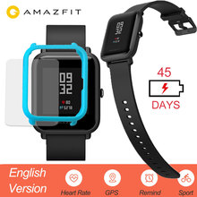 Huami Amazfit Bip Smart Watch English Version Smartwatch Youth Edition Bip IP68 GPS Heart Rate 45 Days Standby