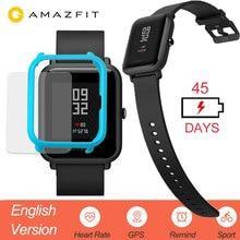 Huami Amazfit Bip akıllı saat İngilizce versiyonu Smartwatch gençlik Edition Bip IP68 GPS kalp hızı 45 gün bekleme