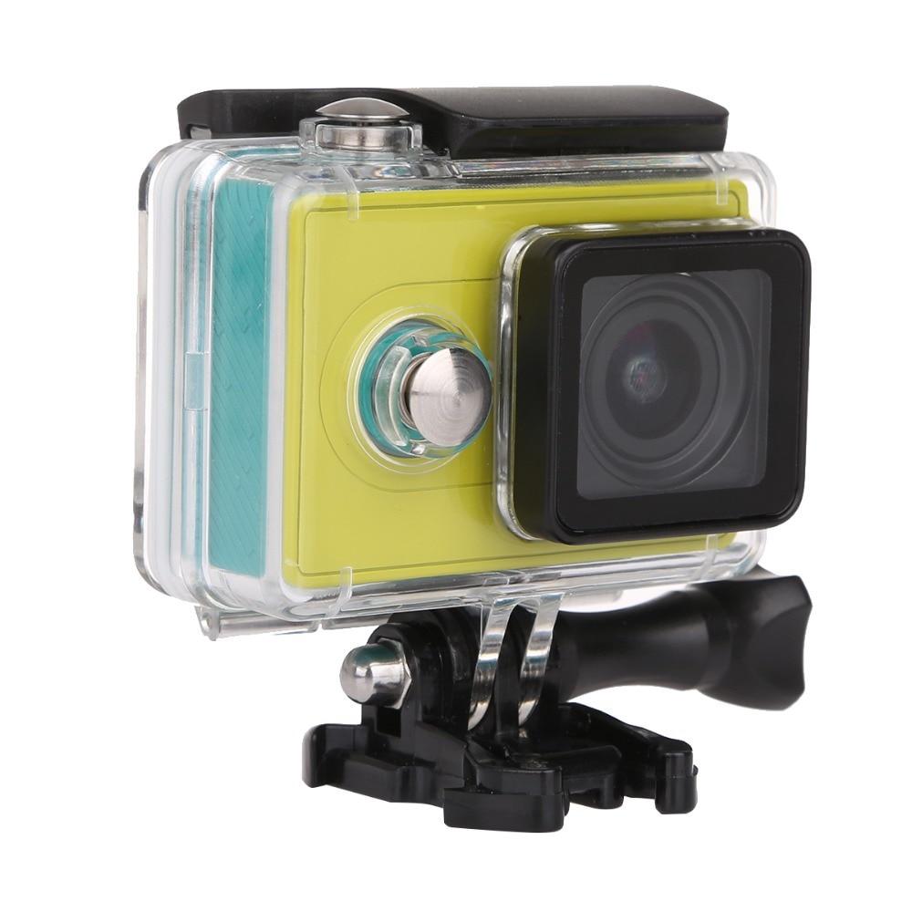 Waterproof Housing Case 40M Diving Sports Box yicamera Sport Box FOR Xiaomi Xiaoyi Yi Action Camera Mount