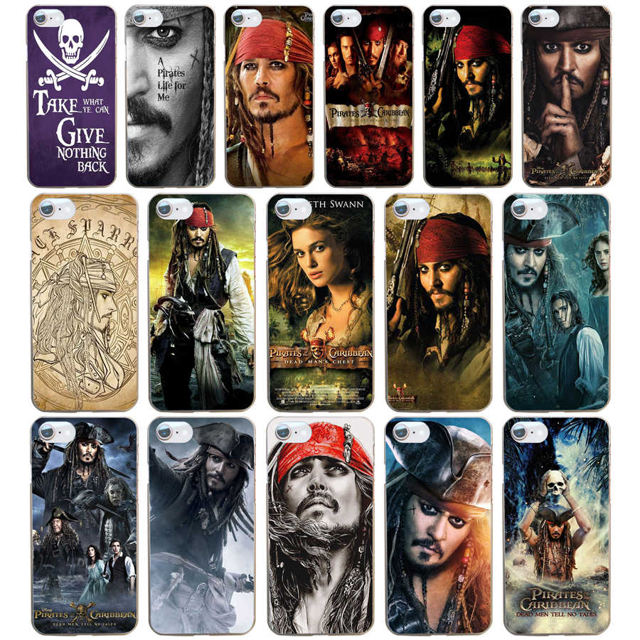 194DD Pirates Of The Caribbean Johnny Depp Soft Silicone Cover Case Voor Iphone 5 5S Se 6 6S 8 Plus 7 7 Plus X Xs Sr Max Case
