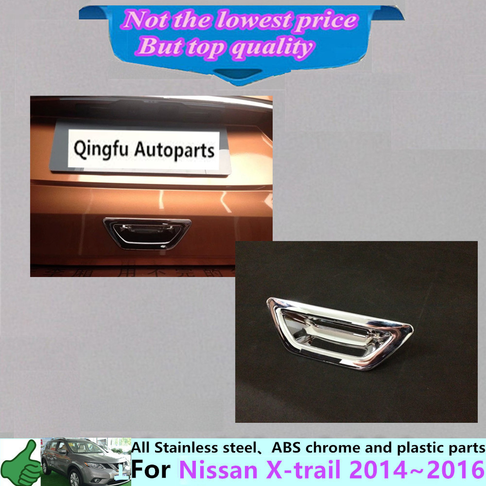 For nissan x trail xtrail 2014 2015 2016 styling cover protection detector trims abs chrome