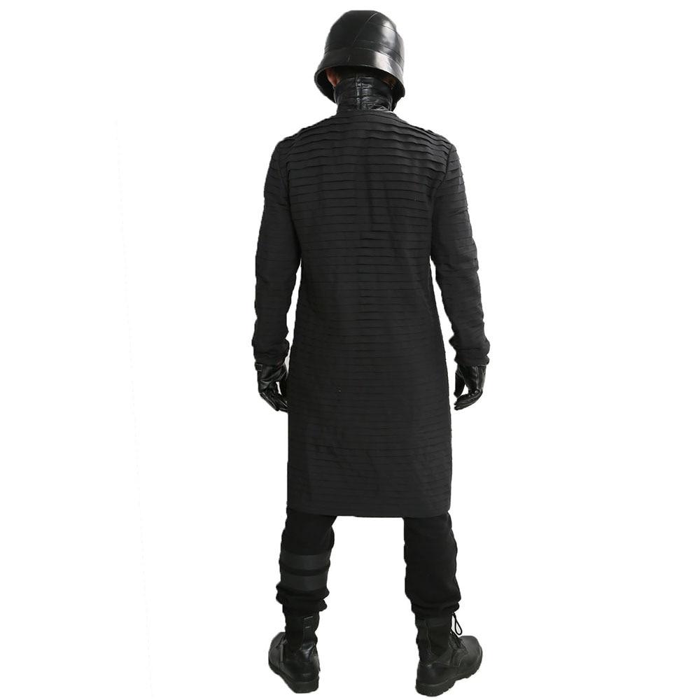 XCOSER Kylo Ren Inner Tunic Star Wars Cosplay Costume Long Under Tunic for Men