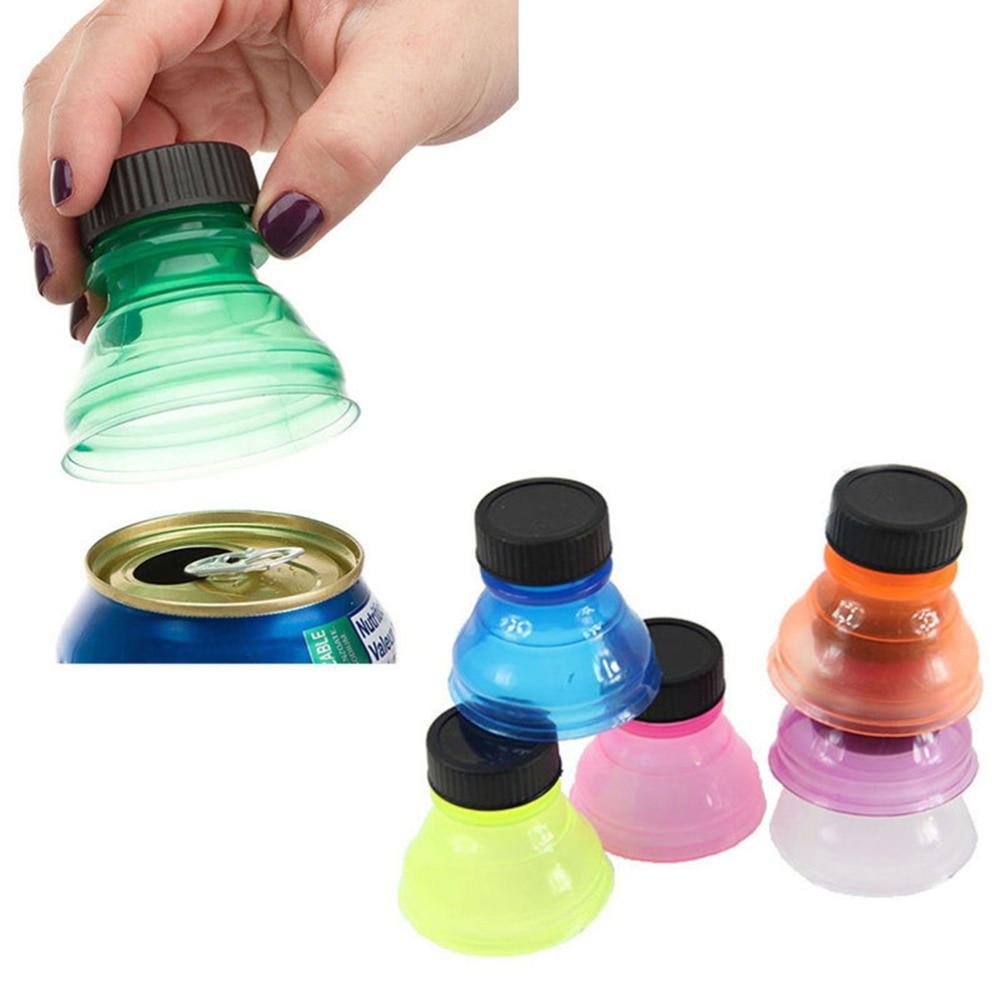 6 Pcs/lot Reuse Snap Bottle On Pop Soda Can Bottle Drink Lid Caps ...