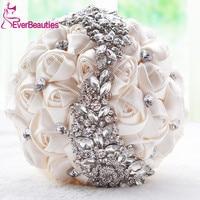 Crystal Wedding Bouquet Brooch Bouquet Wedding Accessories Bridesmaid Artifical Wedding flowers Bridal Bouquets 2019