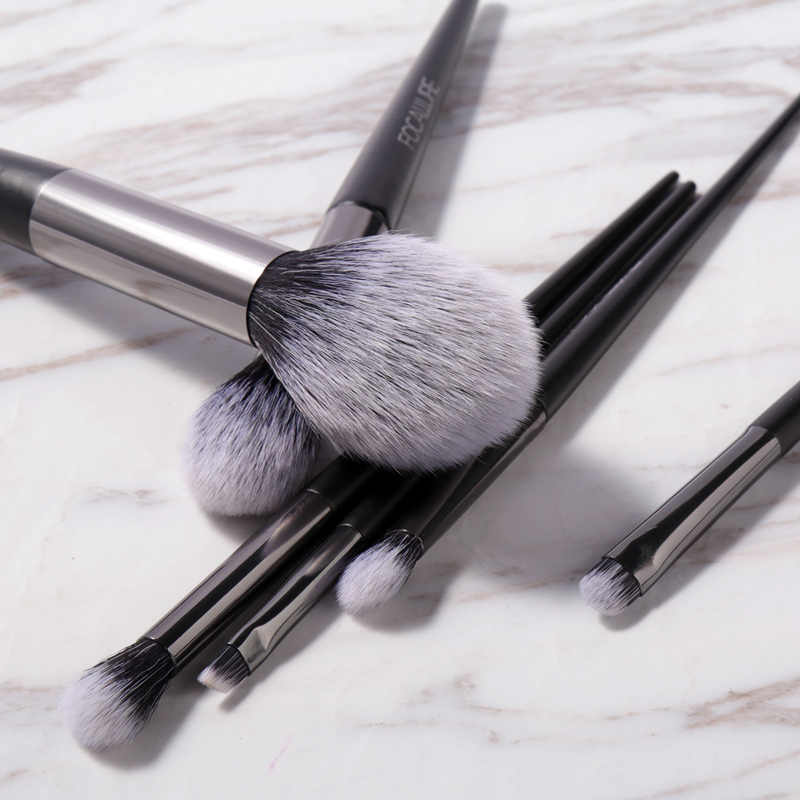 FOCALLURE プロフェッショナルメイクブラシパウダーファンデーションアイシャドウアプリケーター人工毛ブラシ化粧ツール