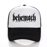 New Hip Hop DEATH HEAVY METAL PUNK Band Behemoth Eagle Cap Men Casual Baseball Cap Black