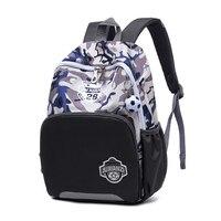 Модные камуфляжные школьные сумки для мальчиков 1 2 лет, Детские рюкзаки, Сниженный водонепроницаемый фантазийный Воздухопроницаемый рюкза