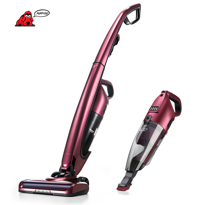 puppyoo cordless handheld and stick vacuum cleaner for. Black Bedroom Furniture Sets. Home Design Ideas
