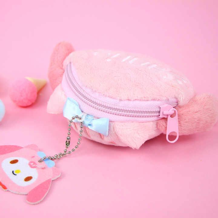 Pom Pom purin dog mini leather coin bag purse wallet 12x5x10cm birthday gift
