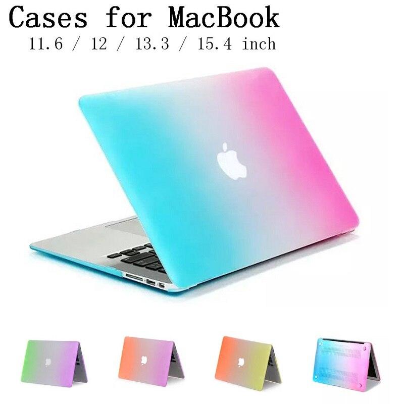 Mbulesë e re e rastit shell Rainbow për Apple Macbook Air Pro - Aksesorë për laptop