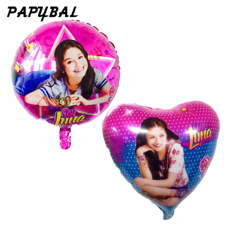 18inches-Soy-luna-foil-balloons-Party-decoration-balloons-birthday-party-decorations-kids-inflatable-toys-ballon-party