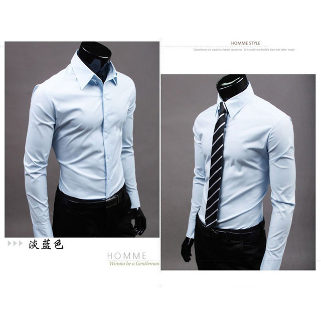 Men Long Sleeve Dresses Of The Big Size