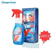 Sooprinse רב תפקודי תוססות מנקה סט, בית ניקוי כלי עם 1 בקבוק ניקוי טבליות עבור Carcher