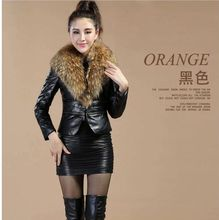 Latest Women Down Jacket Winter Fox furry Collars Comfortable Top Quality Leather  Brief paragraph Jacket Slim Big Yards M019