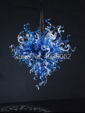 Free Shipping Mini Home Lamp Blue Crystal Chandelier Parts  цена и фото