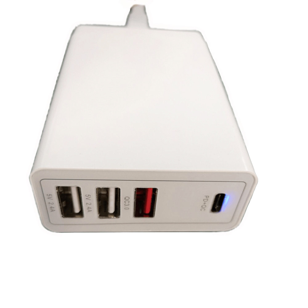 Max 100W TYPE C Charger Compatible For 90W 87W 65W 61W 60W 45W 30W 29W 18W USB C PD Charger For MacBook Air Pro <font><b>13</b></font> Smartphone image