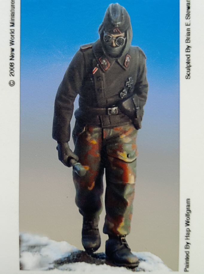 1:35  German Tank Crews, Winter