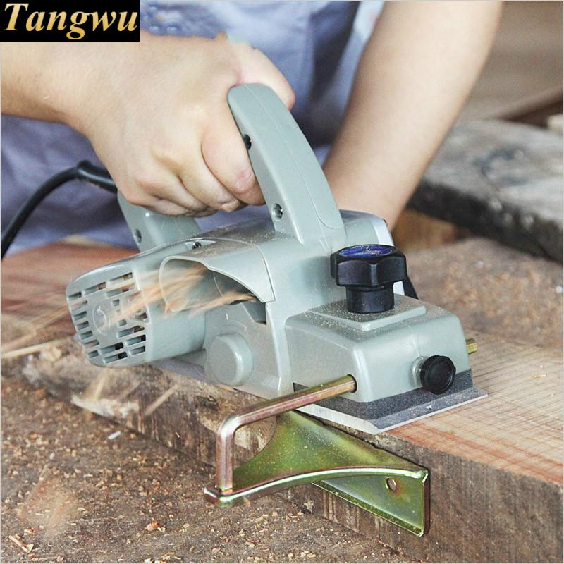 Free shipping Multi-functional portable high-power woodworking planer tool set pressure Electric Planer free shipping domestic woodworking high power electric tool portable electric planer