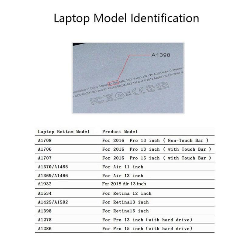 Mimiatrend lewy i prawy Laptop mózgu Naklejka naklejka na Apple - Akcesoria do laptopów - Zdjęcie 6