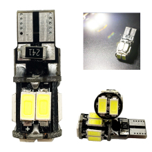 High T10 Canbus!! 10PCS t10 W5W 194 168 5630 10 SMD Can-bus Error Free 10 Led Interior LED Lights White 6000K Canbus 300LM