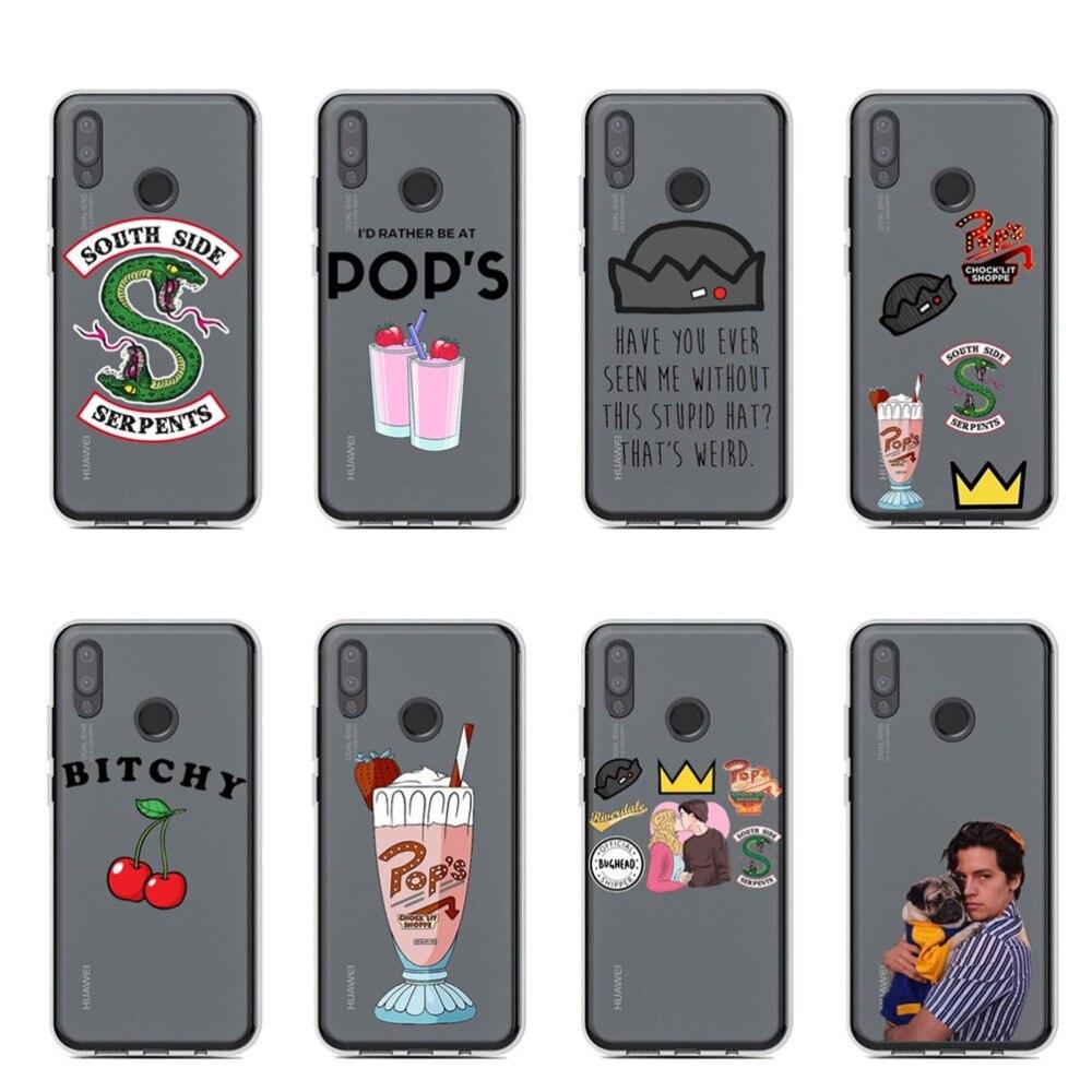 American TV Riverdale Clear Soft silicone TPU Phone Case