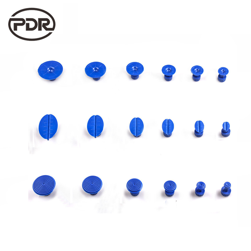 PDR Tools Glue Tabs Puller Tabs Suction Cups Paintless Dent Repair Tool Auto Repair Tools 18 pcs/set High Quality