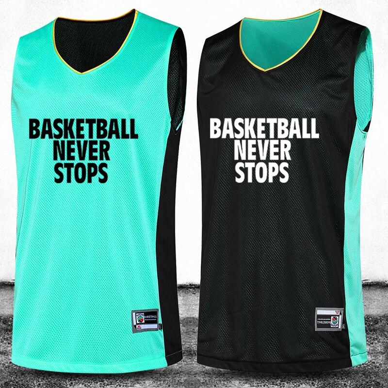 Prix pour 2016 Nouveau Basket-Ball Jersey Costume réversible de Basket-Ball Uniformes Ensembles de Formation Double Face Professionnel Personnalisé Nombre et Logo et Nom