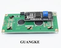 TENSTAR ROBOT LCD1602+I2C LCD 1602 module Blue/Green screen PCF8574 IIC/I2C LCD1602 Adapter plate