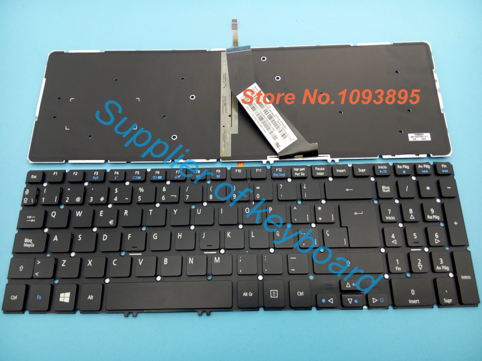 New Acer Aspire V15 Nitro VN7-571 VN7-571G VN7-591G Laptop Keyboard US Backlit