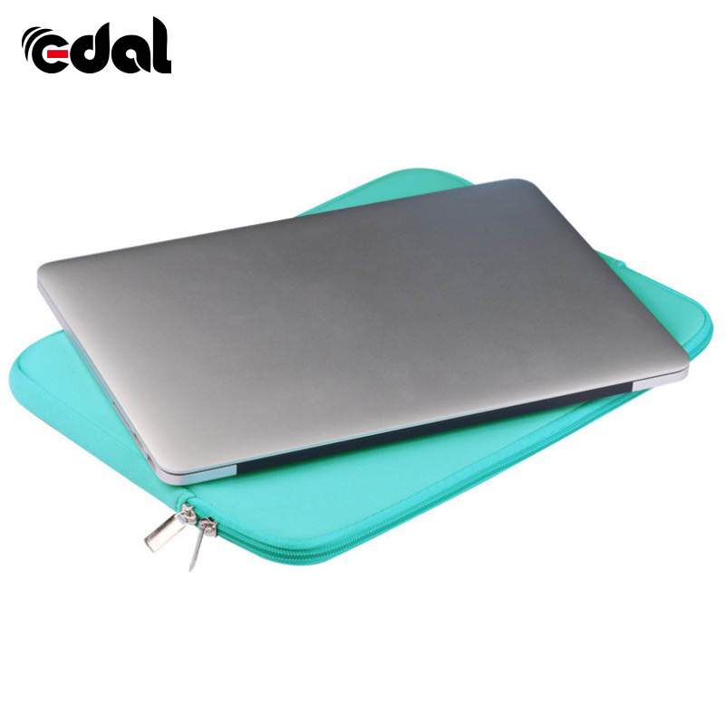 EDAL Zipper Laptop Sleeve Case For Macbook Laptop AIR PRO Retina 11 12 13 14 15 15.6 inch Notebook Bag