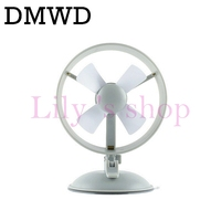 DMWD 6 Inch USB Mini Mute USB Powered Cooling Fan Desktop PC Laptop Computer Wind Cooler