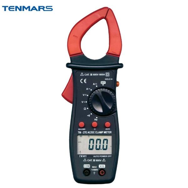 TENMARS TM27E истинные значения RMS цифровой Крюк Таблица клещи