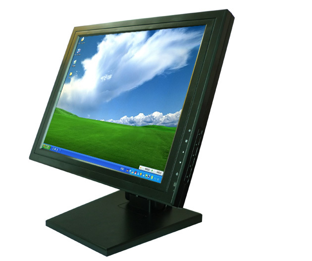 Super Low Price 15 inch Stand LCD POS Monitor Touch Screen ...