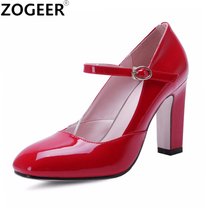 New 2019 High Heels Women Pumps Fashion Sweet Red Pink White Wedding Shoes Woman Casual Platform
