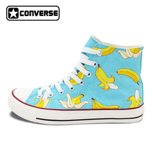 Womens Skateboarding Shoes Canvas Bananas Cute Baby Sport Sneaker