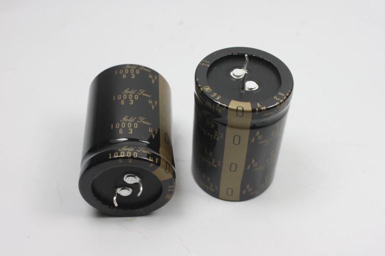 2pcs/10pcs Nichicon Audio Electrolytic Capacitors 10000uf/63v 35*50 KG Super Capacitor Electrolytic Capacitors Free Shipping