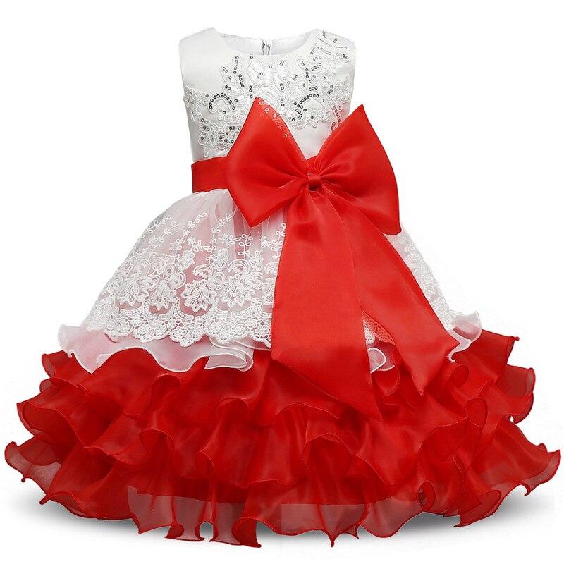 568038dafa Vestidos de Festa Infantil Meninas Princesa Casamento - Moda   Estylo