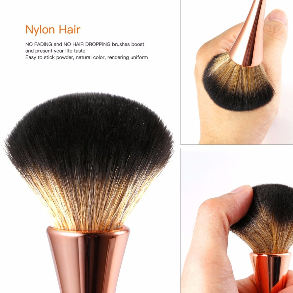 5PCS Makeup Brushes Set Powder Foundation Portable Eyeshadow Make Up Brush Kits Easy to Stick Powder Lightweigh Top Sale