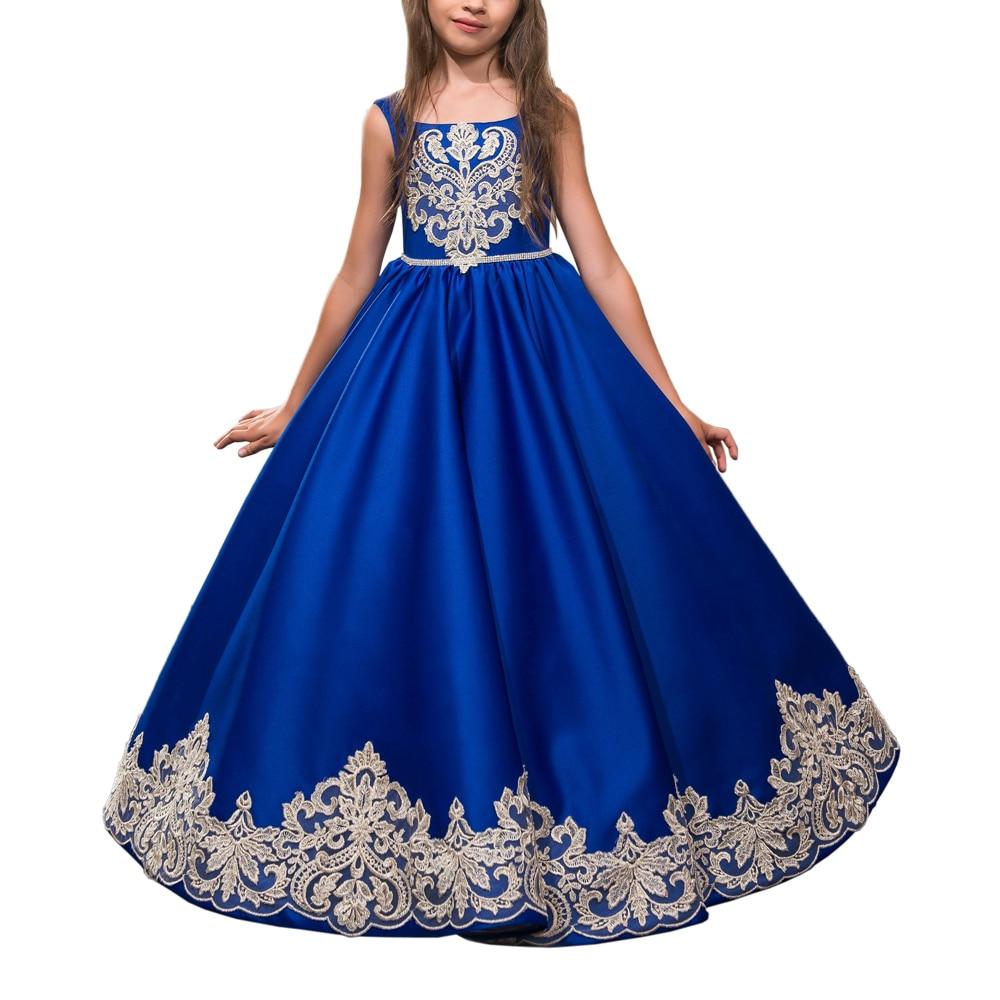 Online Get Cheap Royal Blue Party Dresses Kids -Aliexpress.com ...