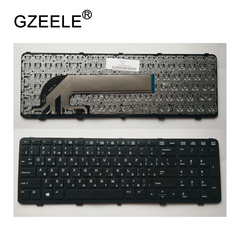 GZEELE Russo RU Teclado do laptop NOVO para HP PROBOOK 450 GO 450 G1 470 455 G1 450-G1 450 G2 455 G2 470 G0 G1 G2 768787-001